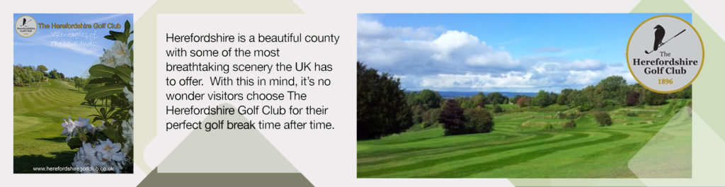 Herefordshire Golf Club as recommended by your golfer magazine