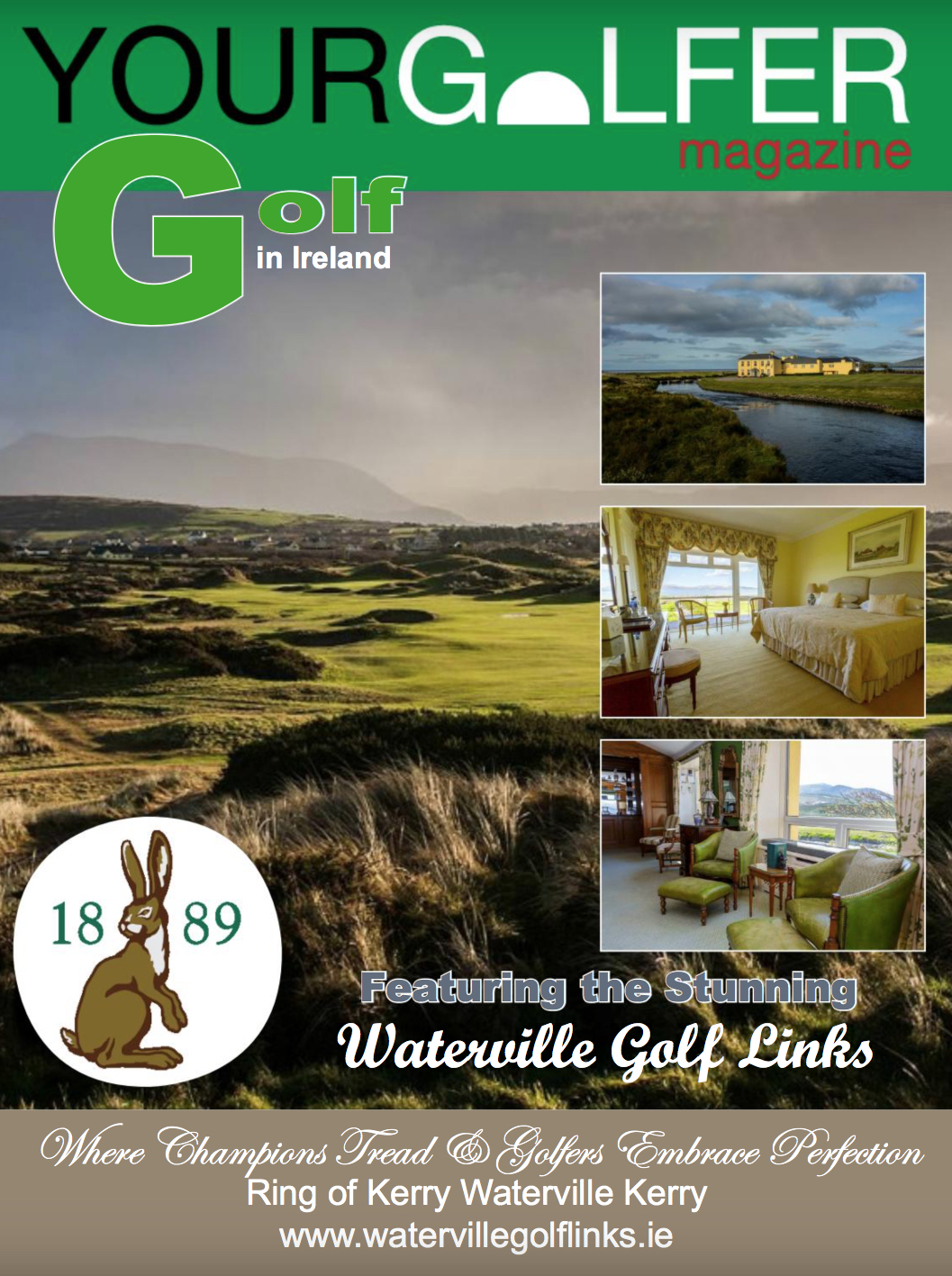 golf in ireland special edition Your Golfer Magazine